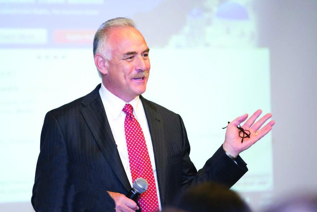 Gene Foley Giving a presentation